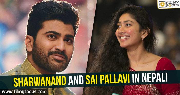 Sharwanand, Sai Pallavi, Actress Sai Pallavi