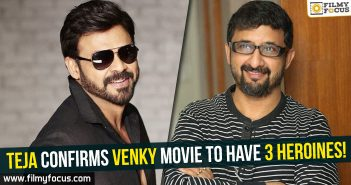 Director Teja, Rana Daggubati, Nene Raju Nene Mantri Movie, Venkatesh
