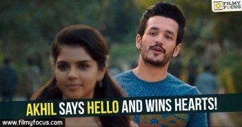 Akhil, Hello Movie, Akhil Akkineni,
