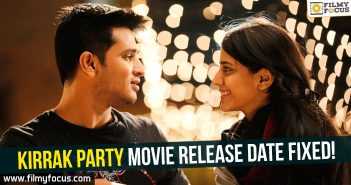 Nikhil's Kirrak Party Movie, Kirrak Party Movie, Nikhil, Samyuktha Hegde, Simran Pareenja