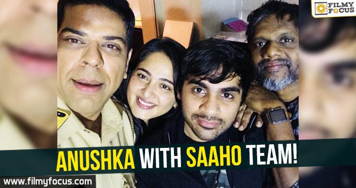 Anushka, Prabhas, Saaho Movie,