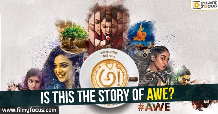Nani, AWE Movie, Kajal Aggarwal, Nani, Ravi Teja, Regina, Kajal, Nithya Menen, Avasarala Srinivas, Murali Sharma, Eesha Rebba, Priyadarshi