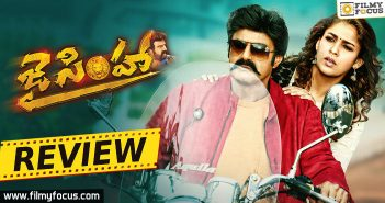 Balakrishna, Hariprriya, Jai Simha Movie Review, Jai Simha Movie Telugu Review, Jai Simha Review, Jai Simha Telugu Review, Nandamuri Balakrishna, Natasha Doshi, Nayanthara