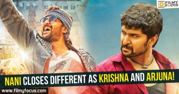 Nani closes different as Krishna and Arjuna!