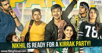 Nikhil, Kirrak Party Movie, Nikhil Siddharth, Simran Pareenja, Samyuktha Hegde