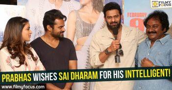 Prabhas, Sai Dharam, Inttelligent Movie, Vv Vinayak
