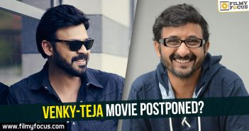 Venkatesh, Director Teja,
