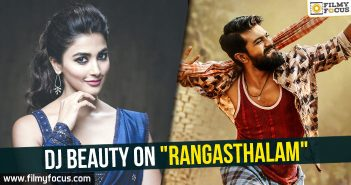 Rangasthalam Movie, Duvvada Jagannadam Movie, Ram Charan, Samantha, Sukumar, Pooja Hegde