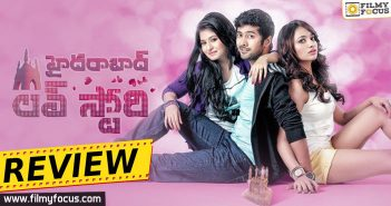 Hyderabad Love Story Movie Review, Hyderabad Love Story Review, Hyderabad Love Story Telugu Review, Jiya, Rahul Ravindran, Reshmi Menon