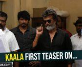 Kaala first teaser on…