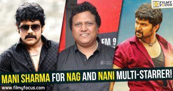 Mani Sharma, Nagarjuna, Akkineni Nagarjuna, Hero Nani, Actor Nani, Nani