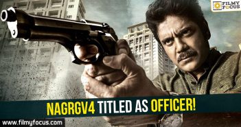 NagRGV4,Officer Movie, Nagarjuna, RGV, Ram Gopal Varma