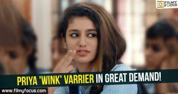 Priya Prakash Varrier,