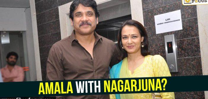 Amala with Nagarjuna?