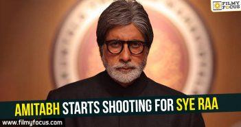 Amitabh Bachchan, Sye Raa Movie, Ram Charan, Chiru, Chiranjeevi, Chiranjeevi, Jagapathi Babu, Keecha Sudeepa, Vijay Sethupathi, Nayantara,