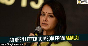 Amala Akkineni, Amala Open Letter, Amala,