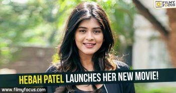 Hebah Patel, Actress Hebah Patel, Hebah Patel Latest News