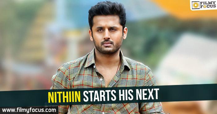 Filmy Focus, Latest Telugu Movie News, Nithiin Upcoming Movie, nitin movies, Telugu Cinema News