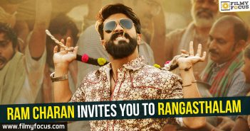 Ram Charan, Rangasthalam Movie, Samantha, Sukumar, Devi Sri Prasad, Jagapathi Babu, Samantha Akkineni, Naresh, Prakash Raj, Anasuya,