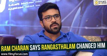Ram Charan, Rangasthalam Movie, Samantha Akkineni, Jagapathi Babu, Adhi Pinisetty, Anasuya, Samantha, Sukumar
