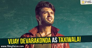 Vijay Devarakonda as Taxiwala, Vijay Devarakonda, Taxiwaala, Arjun Reddy, Rahul Sankritiyan, Geeta Arts 2, UV Creations, Priyanka Jawalkar, Malavika Nair