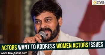 Chiranjeevi, women actors issues