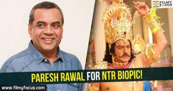 Paresh Rawal, NTR biopic, Nandamuri Balakrishna, Balakrishna,