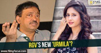 RGV, Urmila, Manvitha Harish, Ram Gopal Varma, Urmila Matondkar, Sridevi,
