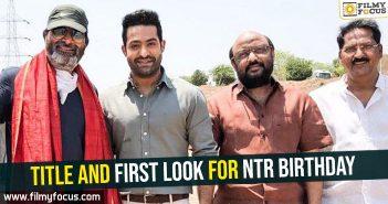 NTR birthday, #NTR28, Jr NTR, NTR, Trivikram