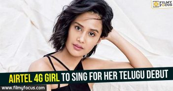 airtel-4g-girl-to-sing-for-her-telugu-debut