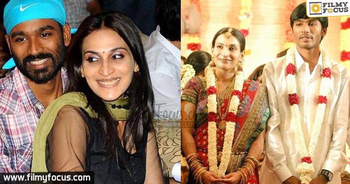 Dhanush and Aishwarya
