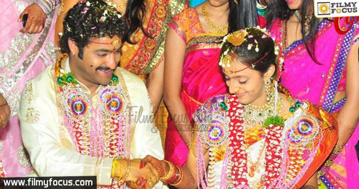 Jr. NTR and Lakshmi Pranathi