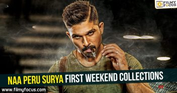 Naa Peru Surya First Weekend Collections