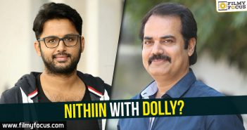 Kishore Kumar Pardasani, Director Dolly, Nithiin