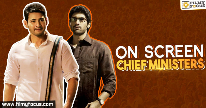 On Screen Chief Ministers