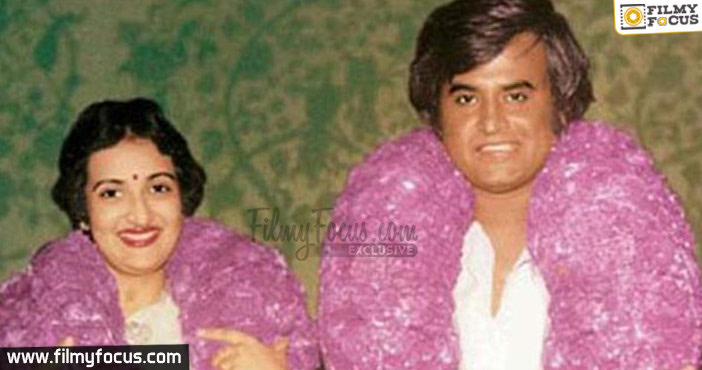 Rajinikanth and Latha