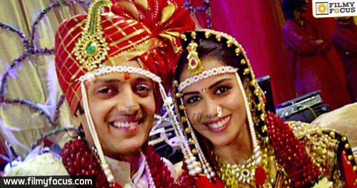 Rithesh Deshmuk And Genelia