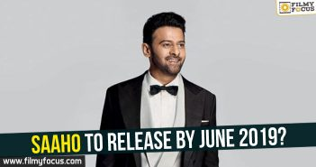 Saaho Movie, Prabhas, Shraddha Kapoor, Sujith Sign,