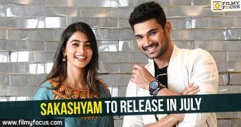 Saakshyam Movie, VV Vinayak, Alludu Seenu, Boyapati Srinu, Jaya Janaki Nayaka, Sakshyam, Sriwass, Lakshyam, Pooja Hegde