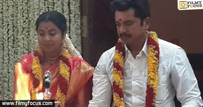 Sarath Kumar and Radhika
