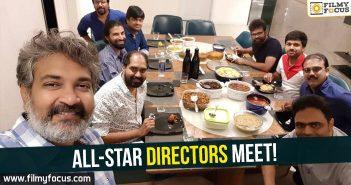 Nag Ashwin, Sandeep Reddy Vanga, Koratala Siva, SS Rajamouli, Krish, Sukumar, Anil Ravipudi, Harish Shankar, SS Rajamouli