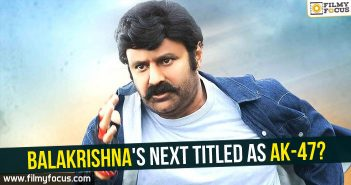 Vv Vinakyak, Balakrishna, NBK, AK-47 Movie