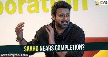 Saaho nears completion?