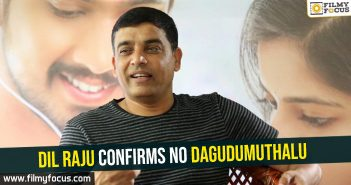 Dil Raju, Producer Dil Raju, Nithiin, Sharwanand, Harish Shankar, Dagudumuthalu Movie,