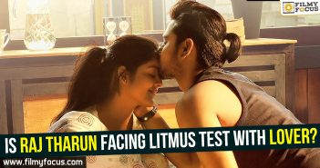 Raj Tarun, Raj Tharun, Lover Movie
