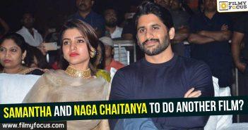 Samantha And Naga Chaitanya