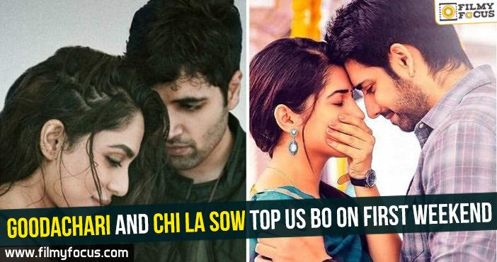 Goodachari Movie, Chi La Sow Movie, Rahul Ravindran, Adivi Sesh, Vennela Kishore,