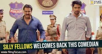 Allari Naresh, Bheemaneni Srinivasa Rao, Nandini Rai, Poorna, Silly Fellows Movie, Sunil