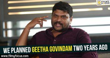 Geetha Govindam Movie, Parasuram, Vijay Devarakonda, Rashmika Mandanna
