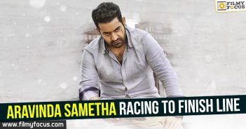 Aravinda Sametha racing to finish line